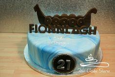 Viking Longboat Cake