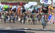 Jan Bakelants (RadioShack Leopard) wins stage 2 of the Tour de France