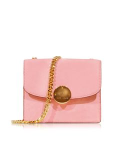 92122274bd00 Marc Jacobs Mini Trouble Baby Pink Suede Shoulder Bag at FORZIERI Marc  Jacobs