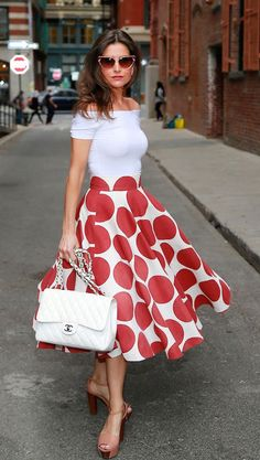 Stylish ways to wear Polka Dot modernly - DesignerzCentral