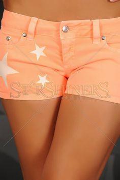 Pantaloni Scurti Mexton Stars Orange