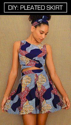 DIY Pleated Skirt - FREE Sewing Tutorial