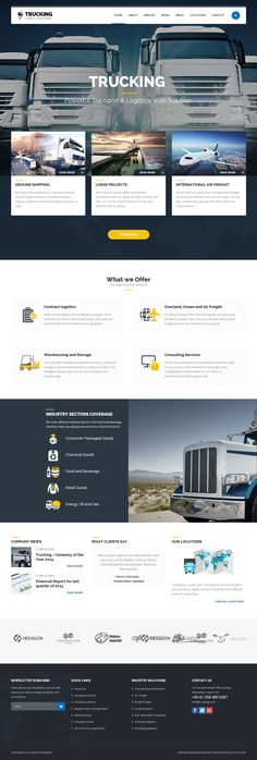 Trucking is Premium Responsive Retina #WordPress Transport #Theme. Drag & Drop. #VideoBackground. Redux Framework. Google Map. Test free demo at: http://www.responsivemiracle.com/cms/trucking-premium-responsive-transportation-logistics-wordpress-theme/