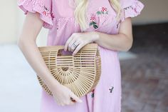 Frill Sleeve Dress | A Daydream Love