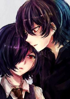 Shippo a Touka e o Ayato. Sim eu sei eles são irmãos,e daí?