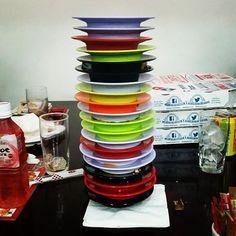 #sushi at #tataki new #record #20 plates  3 plates of prawns by oliverventer209