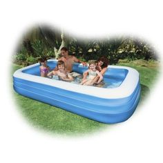 Inflatable pool for our camp touch this yard. Deprivation Tank, Sensory Deprivation, Pool Toys For Kids, Kid Pool, Pool Water Slide, Water Slides, Party Games, Party Planning, Swimming Pools