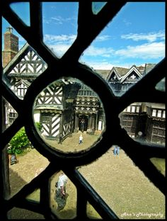 Patterns of yesteryear! by mancunian61, via Flickr, Little Moreton Hall, Cheshire, UK