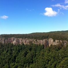 Canyon Lookout in Springbrook, QLD
