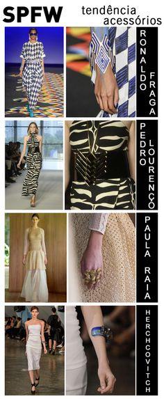 #trends #tendencia #spfw #verao2015 #moda #desfile #verao #acessorios #access #ronaldofraga