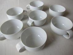 7 NEW Rosenthal Studio-Line SUOMI tea cups, 7 oz. Timo Sarpaneva