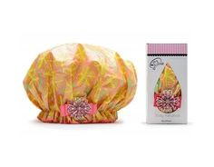 Dry Divas Designer Shower Cap For Women  Washable Reusable  Large Bouffant Cap With Vintage Jeweled Brooch Sunny Daze -- Read more reviews of the product by visiting the link on the image.(This is an Amazon affiliate link and I receive a commission for the sales)