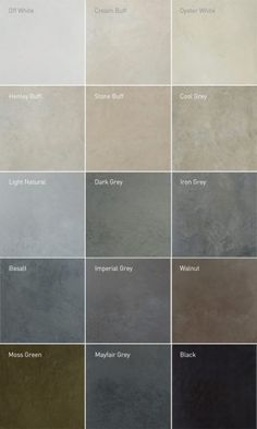 Lazenby recommend unique colours for their superior polished concrete installations. RAL colour matches available. Visit our London Showroom by appointment. More house flooring, Recommended Polished Concrete Colours Grey Flooring, Kitchen Flooring, Polished Concrete Flooring, Concrete Kitchen Floor, Epoxy Concrete Floor, Polished Concrete Kitchen, Cement Floors, Flooring Ideas, Concrete Countertops Colors