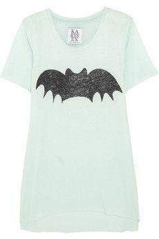 Zoe Karssen Bat cotton and modal-blend T-shirt | NET-A-PORTER
