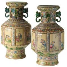 Porcelain Jewelry, Fine Porcelain, Porcelain Ceramics, Ceramic Vase, Painted Porcelain, Porcelain Tiles, Japanese Porcelain, Art Furniture, Vases For Sale