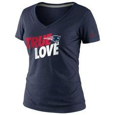 New England #Patriots Nike Women's True Love T-shirt. - $27.99