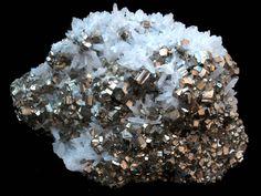 Pyrite and Quartz - Peru
