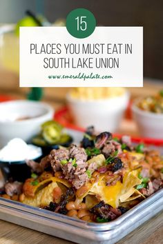 Best Restaurants in South Lake Union - The Emerald Palate Seattle Restaurants, Seattle Food, Seattle Travel, Downtown Seattle, South Lake Union, Best Thai, Latin Food, Foodie Travel, Lunch Recipes