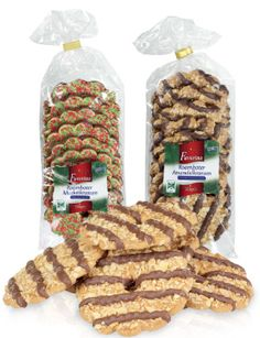 Dutch Christmas cookies that go with coffee and tea