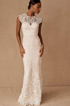 Catherine Deane Merry Gown In Ivory by Catherine Deane - Ivory - Size: 0 Art Deco Wedding Dress, How To Dress For A Wedding, Wedding Dress Trends, Wedding Dress Sizes, Fall Wedding Dresses, Bridesmaid Dresses, Autumn Wedding, Beautiful Wedding Gowns, Modest Wedding