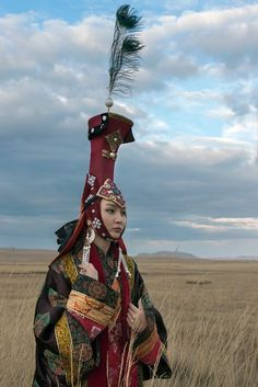 Mongolian queen Photo by Terry Allen National Geographic