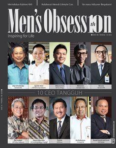 Ini adalah foto-foto 10 CEO tangguh pilihan Men's Obsession yang dimuat pada edisi 126, Juli 2014