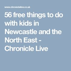 56 free things to do with kids in Newcastle and the North East - Chronicle Live
