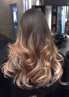 Brown+Ombre+Hair+Tumblr | fotos ombre hair como fazer ombre hair assista o video passo a passo