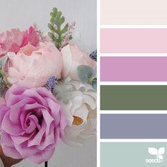 Explore Design Seeds color palettes by collection. Bedroom Color Schemes, Colour Schemes, Color Patterns, Color Harmony, Color Balance, Design Seeds, Color Concept, Flora Design, Colour Pallette