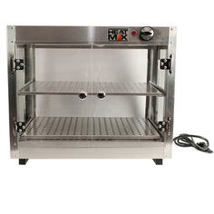 Commercial Countertop Food Warmer Display Case With Water Tray 24 x 15 x 20