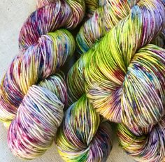A Day In A Life...February 08, 2017 - Hand dyed on Beautiful Sock