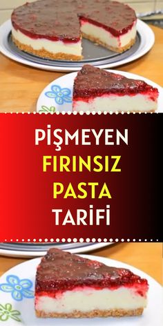 Cake Recipes, Dessert Recipes, Desserts, Food N, Food And Drink, Cheesecake Brownies, Turkish Recipes, Tart, Brunch