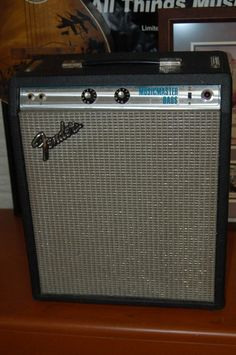 Vintage Fender Silverface Musicmaster Bass Amp 1978 Black Tolex Fender 12 inch Speaker   Reverb.com Give us a call. Lawman Guitars...515-864-6136