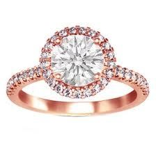 Rose Gold Engagement Ring from #WimmersDiamonds