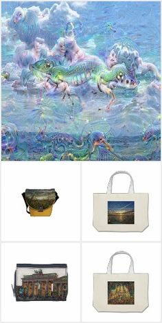 DeepDream, Bags ...