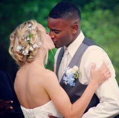 Just the best interracial couple ever, that's all.