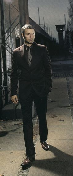 Mads Mikkelsen. The Royale Gent. Tall, Dark and Danish. I like my men brooding ... lol