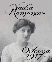 """Princess Nádia Romanov-Orlovna, 1917. The Orlovs are related to the Imperial Family through descent and marriage. After Catherine the Great had had 11 years with Count Orlov, she allowed all her bastards to use """"ORLOV"""" as their last name no matter who their father."""