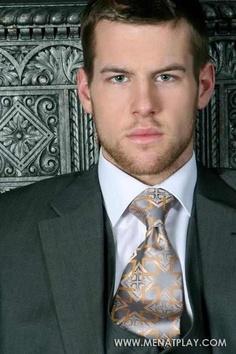Adam Coussins. Men's Suit