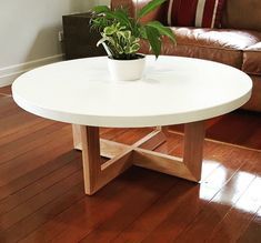 Attractive Concrete Coffee Table Design Ideas You Must Try 26