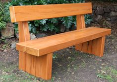 Image result for diy bench seat with backrest