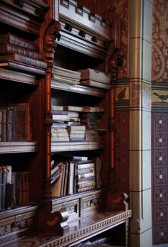 Cardiff Castle library, Wales