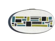 Color blocks modern cross stitch pattern by wallwork on Etsy, $4.50