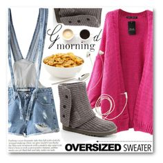 """Good Morning"" by stylemoi-offical ❤ liked on Polyvore featuring UGG Australia, Molami, Lulu*s and stylemoi"