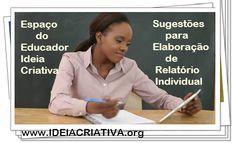 Sugestões para Elaboração de Relatório Individual Educação Infantil