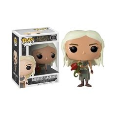 Figurine Game Of Thrones - Daenerys Targaryen Pop 10cm : (Game Of Thrones - Funko - Prix : 15.00 EUR)