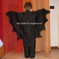 Mamma Claudia e le avventure del Topastro: Vestito da pipistrello fai da te