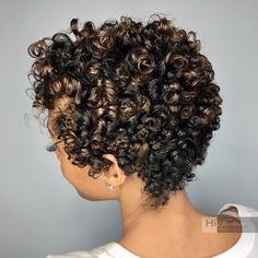 Natural hair salon located in Alpharetta, specializing in Curly Hair, Devacuts and Silk Presses Short Curly Cuts, Short Curly Styles, Curly Hair Styles, Big Chop, Natural Hair Salons, Natural Styles, Cute Hairstyles, Hair Growth, New Hair