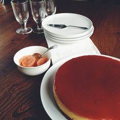 Red Guava Cheesecake (adapted from Jamie Oliver's New York Vanilla Cheesecake) Red Guava, Guava Jam, Guava Recipes, Jam Recipes, National Cheesecake Day, Chilli Jam, Digestive Biscuits, Quick Snacks, Jamie Oliver