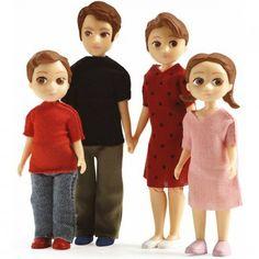 Cette famille de poupées Djeco bien sympathique est composée de Marion